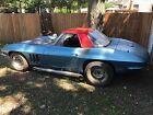 1965 Chevrolet Corvette convertible project CORVETTE CONVERTIBLE BEAUTIFUL ORIGINAL FRAME 327 4 speed PROJECT nds everything