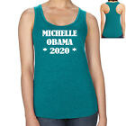Support Michelle Obama Racerback 2020 President of USA Womens Tank Top 1766C
