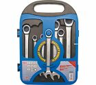 RATCHET RING SPANNER SET 7 Pieces 72 Tooth Working Angle 5° 8 - 19 mm