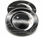 Fitz & Floyd China Stardust Salad Dessert Plate Man In the Moon Two One As Is