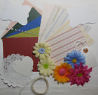 Card Making Kit Paper Pack Plus Coordinating Embellishments Summer Daisies