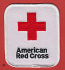 AMERICAN RED CROSS SHOULDER PATCH Large