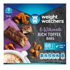 WEIGHT WATCHERS 6 ULTIMATE RICH TOFFEE BARS Free Shipping