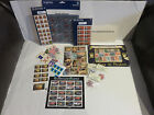 Mixed Lot Postage Stamps Vintage Unused Cancelled