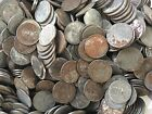 STEEL PENNIES - ROLL OF 50 - CULL CONDITION - MIXED MINT MARKS - 1943 PENNY LOT