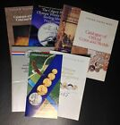 6 US Mint and 1 Canadian Mint Brochures, 1983-1988, Olympics, Gold Eagle, Medals