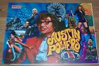 New! Stern Austin Powers Pinball Machine Translite 830-5274-00 Free Shipping!