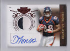 2010 Prime Auto DEMARYIUS THOMAS rookie AUTOGRAPH 2 Color Jersey PATCH card 699