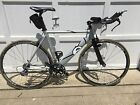 bicycle-mens -2005 Cervelo Dual triathalon bike, silver