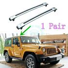 2* Aluminium Baggage Holder Cars Roof Carriers Trim For Jeep Wrangler 2005-2016