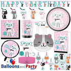 Purr fect Kitty Cat Birthday Party Tableware Decorations Supplies