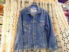 VTG HBO Jean Jacket EMBROIDERED Cinemax Sessions HBO SIMPLY THE BEST MEN L