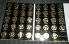 PRESIDENT DOLLARS  2007-2016 complete set of 39 coins in coin folder