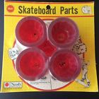 Vintage Nash Red Skateboard Wheels Fits 5/16