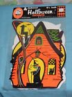 vintage Beistle HALLOWEEN CUTOUTS decorations MIP new sealed witch owl