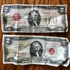 1963 and 1928 D TWO DOLLAR BILLS UNITED STATES NOTES