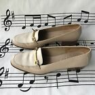 SALVATORE FERRAGAMO Boutique Shoes Beige Leather Womens Sz 7 B
