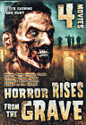 2 Disc 4 Movie HORROR RISES FROM THE TOMB ZOMBIE HELL HOUSE NIGHT OF