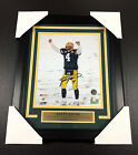 BRETT FAVRE SNOW AUTOGRAPHED FRAMED 8x10 PHOTO #3 GREEN BAY PACKERS SIGNED