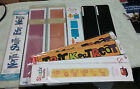 Lot 10 Sizzix  Quickutz Sizzlets Strip Dies New  Used