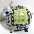 Fitz & Floyd Cash Critters ceramic colorful Ram Bank ~ Bank Those Bucks