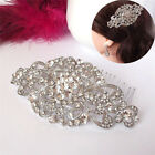 1X Vintage Wedding Crystal Hair Comb Bridal Tiara Bride Hair Piece Accessories