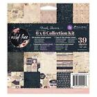 Wild  Free Collection Kit Scrapbooking 6x6 in Paper Pad PRIMA 992293 NEW
