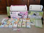 Cricut Expression Pink HUGE BUNDLE 2 machines with 14 cartridges