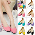Women Ballerina Ballet Dolly Pumps Ladies Slip On Flat Boat Loafers Single Shoes