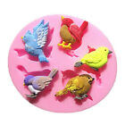 3D Cute Birds Chocolate Baking Mould Silicone Fondant Mold Cake Decorating Tool