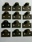 12  matching cast iron Victorian style sash lifts,window lifts,pulls,handles