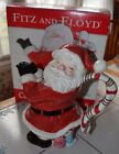 Vintage Candy Christmas Santa Pitcher Fitz and Floyd In Box