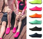 Water Barefoot Shoes Aqua Socks Beach Surf Slip on Yoga Dance Exercise Fashion
