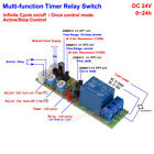 Adjustable Infinite Cycle Loop Delay Time Timer Relay Switch Turn On Off Module