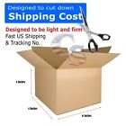 100 6x4x2 Shipping Packing Mailing Moving Tapeless Boxes Corrugated Carton