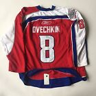 Alex Ovechkin 2009 All Star Game Red Authentic Game Jersey JSA - Size L XL