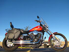 Harley Davidson DYNA WIDE GLIDE FXDWG 103 WIDE GLIDE FXDWG 2012 HARLEY DAVIDSON DYNA WIDE GLIDE FXDWG EMBER RED SUNGLO WITH FLAMES