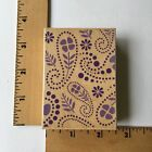 Hero Arts Rubber Stamps Flower Paisley Background G4412 NEW