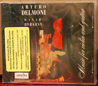ATHENA CD: Arturo Delmoni, David Burgess - Music for Violin and Guitar - SEALED