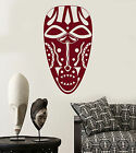 Vinyl Wall Decal Ancient African Native Mask Stickers 1594ig