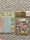 New Baby Scrapbooking Embellishments Metal Tags