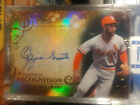 2015 Topps Tribute Rightful Recognition Autographs Black Ozzie Smith Auto 22 50