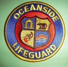 California Fire Patch - Oceanside Lifeguard