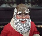 1989 Clothtique Possible Dreams Holiday 10 African American Santa Claus 2851