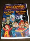 Alvin and the Chipmunks Scare-Riffic Double Feature Brand New Sealed!