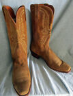 Mens Lucchese 1883 Brown Suede Cowboy Western Boots Size 13 D
