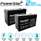12V 7Ah BATTERY FOR RAZOR E200  E300S ELECTRIC SCOOTER 2 Pack