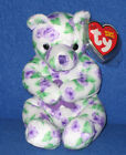 TY CORSAGE the BEAR BEANIE BABY - MINT with NEAR MINT TAG