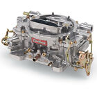 Edelbrock 1405 600 CFM Performer Carburetor Manual Choke Silver