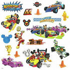 MICKEY MOUSE ROADSTERS RACERS wall stickers 19 decals race car Minnie room decor